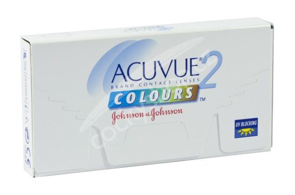 Acuvue 2 Colours - tónovacie (6 šošoviek) - dioptrické 5de3b28969b